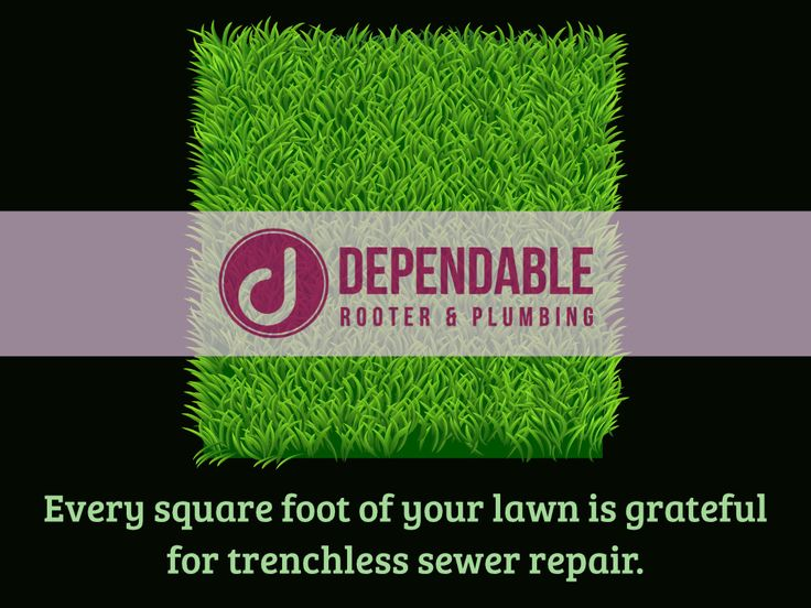 Gone are the days of digging up all around your property to replace sewer lines. To learn more about trenchless sewer repair check out our homepage! #DependableRooter #Trenchless #Plumbing #SewerRepair
