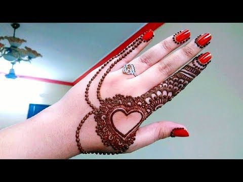 Jewellery Mehndi Design 2018 --New Creation|Thought of Creation - YouTube
