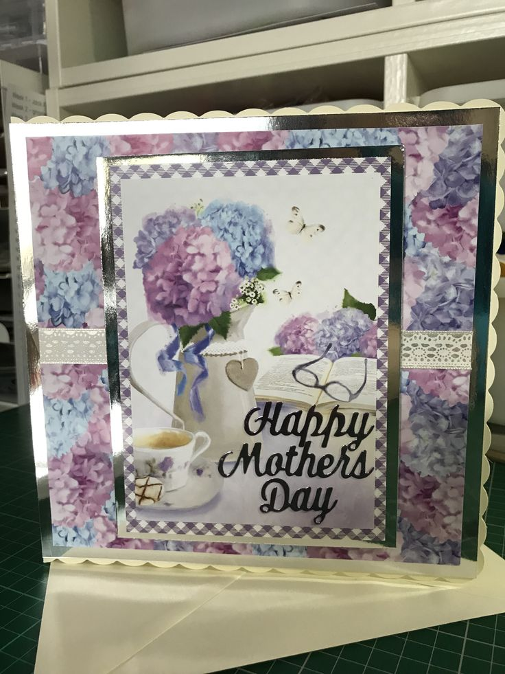 Made by Nikki Morley - I made this card for my wonderful mum for Mother's Day.