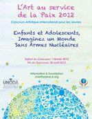 Affiche du concours de 2012