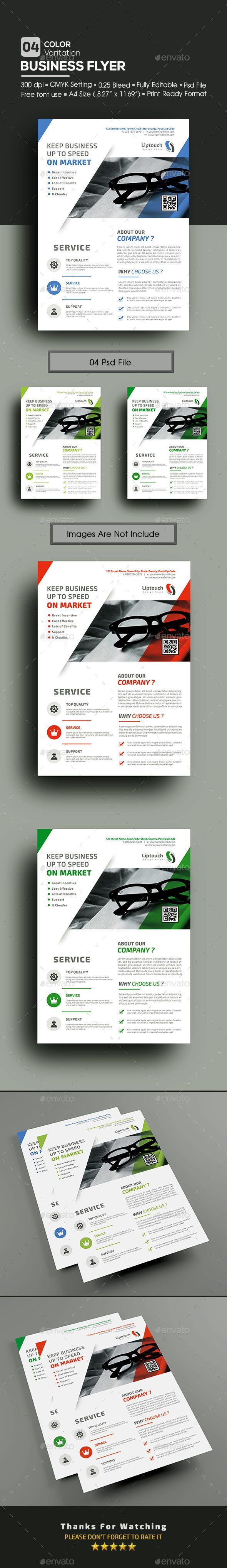 Corporate / Business Flyer Template PSD