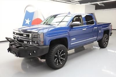 2015 Chevrolet Silverado 1500 High Country Crew Cab Pickup 4-Door 2015 CHEVY SILVERADO HIGH COUNTRY 4X4 LIFTED CUSTOM 20K #249411 Texas Direct
