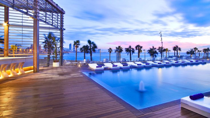 W Hotel, Barcelona, Spain