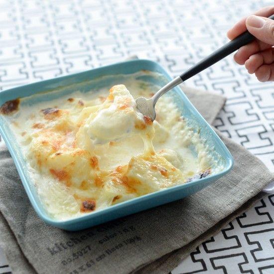 生クリームいらず!牛乳でおいしく作れる、ポテトグラタンレシピ。