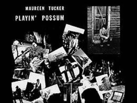 Maureen Tucker Playin Possum Bo Diddley