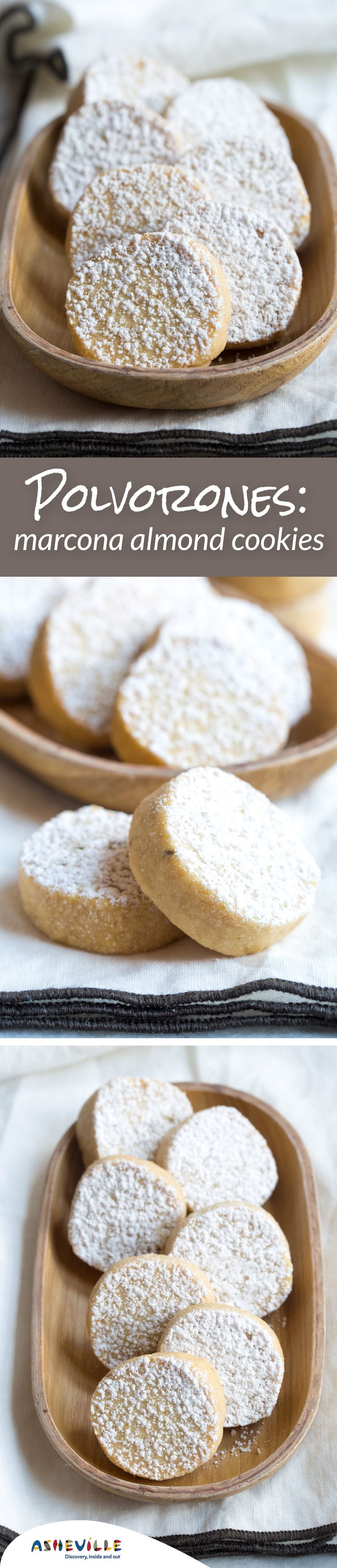 Spoonful of sugah almond polvorones aka russian tea cakes mexican - Marcona Almond Holiday Cookies