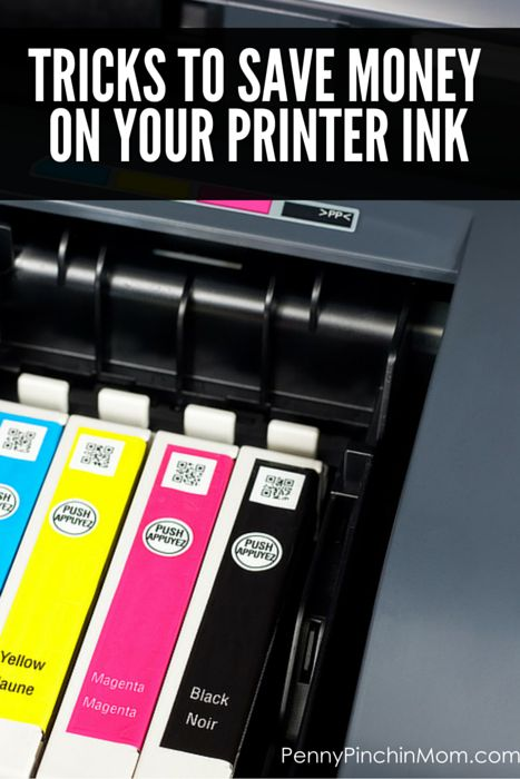 Learn these expert tips and tricks to help YOU save money on your printer ink (your budget will thank you)!!