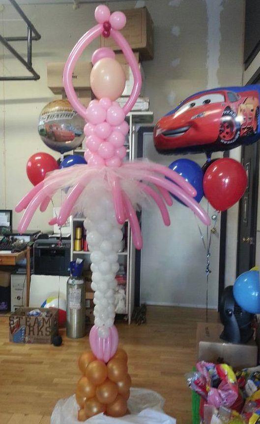 ballerina balloons - Google Search