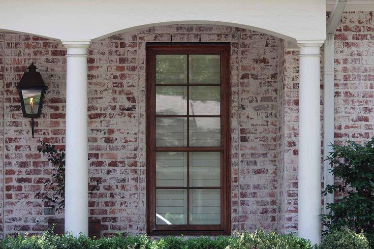Old San Luis Q Smear Mortar White Wash Brick Brick