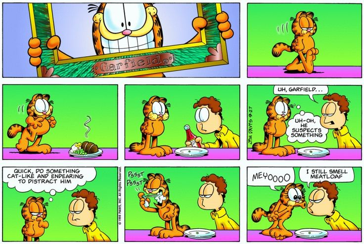 Garfield & Friends | The Garfield Daily Comic Strip for September 27th, 1998