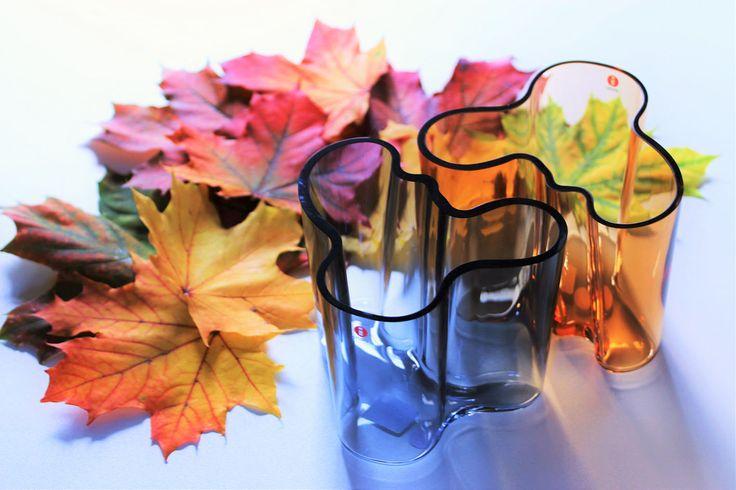 Krasná podzimní atmosféra #podzim #autumn #savoy #alvaraalto #iittala #listi #colorful #design #finskydesign #scandinavian #scandinaviandesign #nordic #nordicdesign #atmosphere #vase #peknepohromade #krasabarvy #arki #arkishop #arkicz