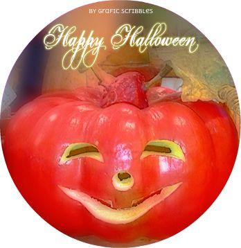 Per Halloween una per niente minacciosa zucca - Free Halloween Clipart http://graficscribbles.blogspot.it/2015/10/halloween-zucca-decorazioni-addobbi-clipart-gadget.html #halloween   #zucca   #pumpkin
