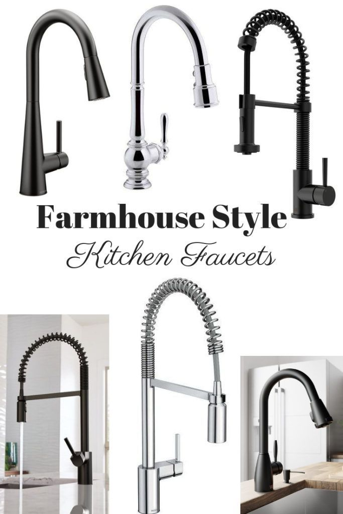 Farmhouse Style Kitchen Faucets With Images Farmhouse Faucet