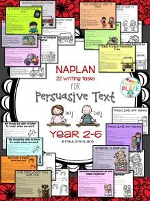 Persuasive Writing unit Years 3 - 6