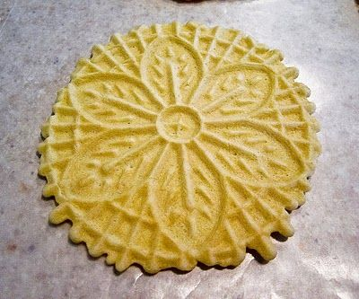 Lemon-Vanilla Pizzelles, Take 1 | The Spiced Life