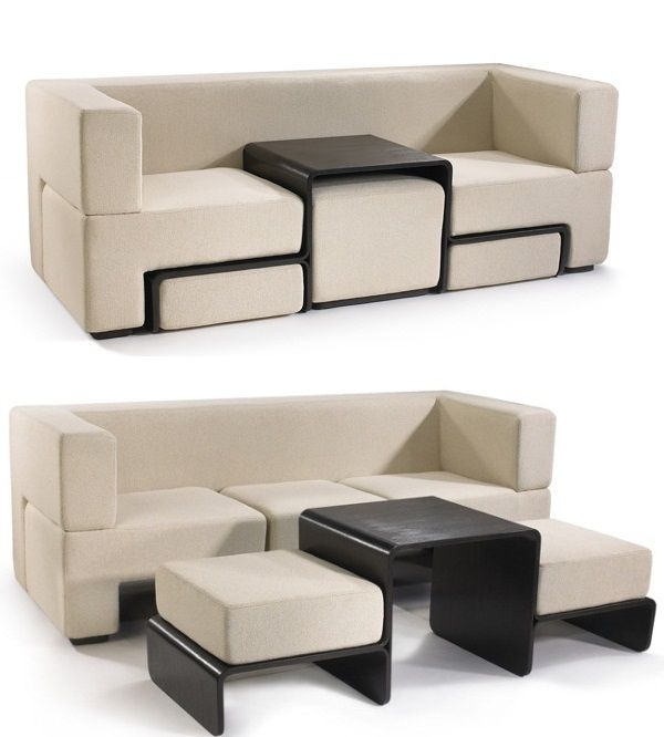 Space-Saving with an Innovative and Dynamic Furniture Piece