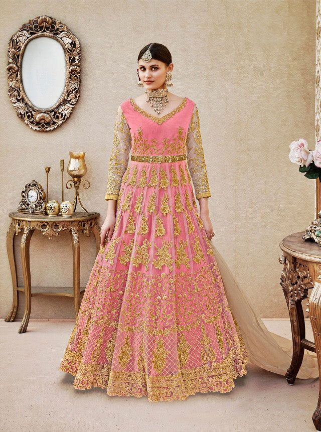 e533138bee sethnic long heavy handwork gown wholesale supplier in surat 4404 vipul