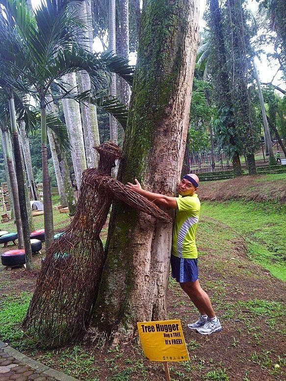 TreeHugger: Hug a Tree, it's Free! Jakarta -Indonesia