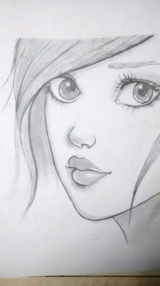 Pin on Easy pencil drawings
