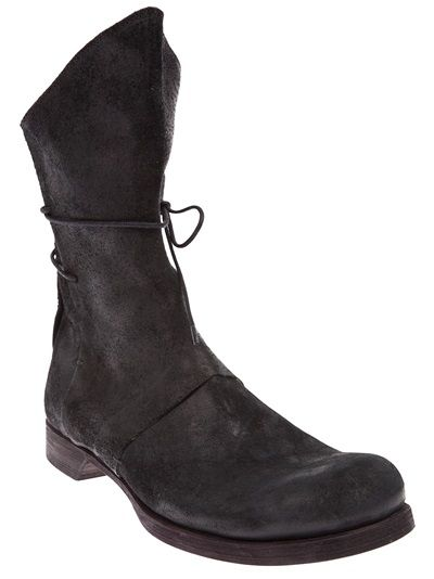 LOST AND FOUND - wrap-around fastening boot 5