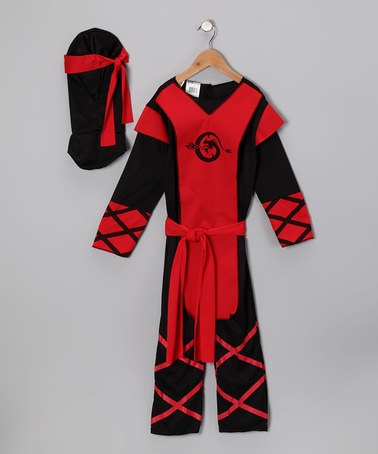 Take a look at this Paper Magic Red Dragon Ninja Dress-Up Set - Toddler by Frightfully Fun: Costumes & Décor on #zulily today!