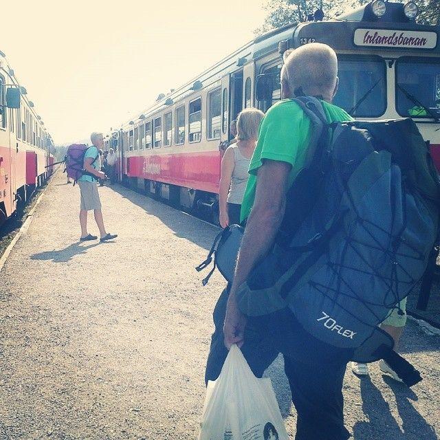 Take a ride with Inlandsbanan to Sorsele in Swedish Lapland #inlandsbanan