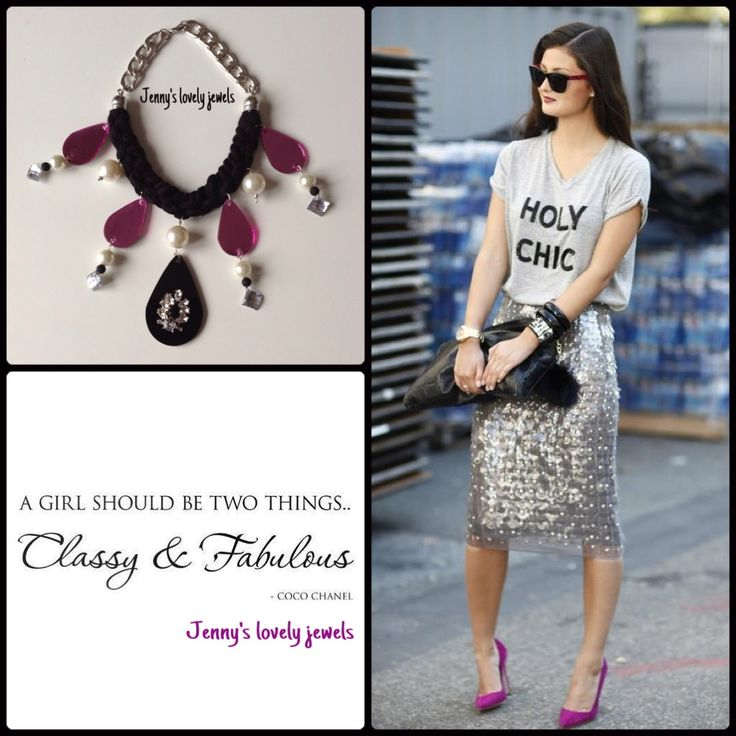 Street style necklace