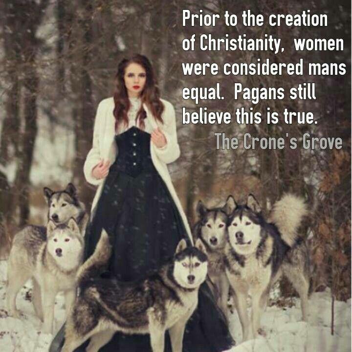 Pagan women rule. ~ trish :-)