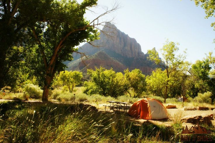 All About Camping in Zion National Park