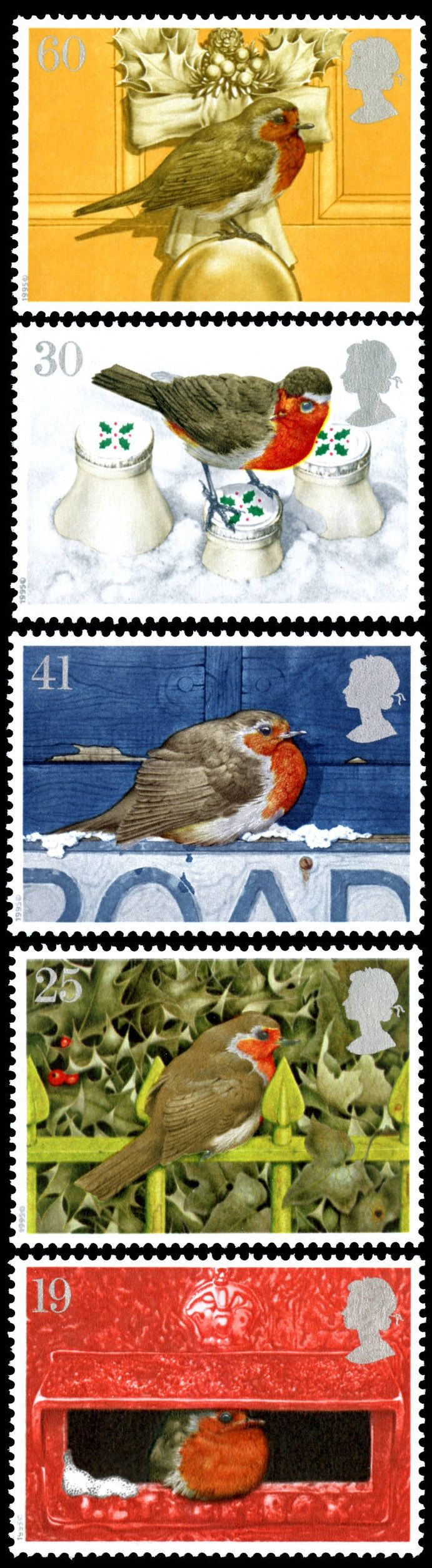 Royal Mail 1995 - Christmas