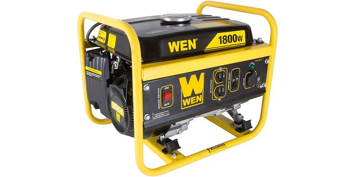 WEN 56180 - #1 Top Rated Portable Generator Under $200