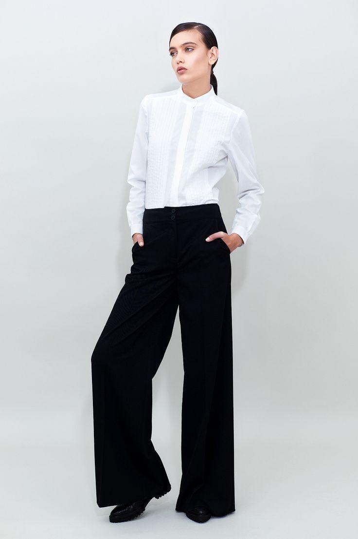 Long Wide Leg Pants - chemistry