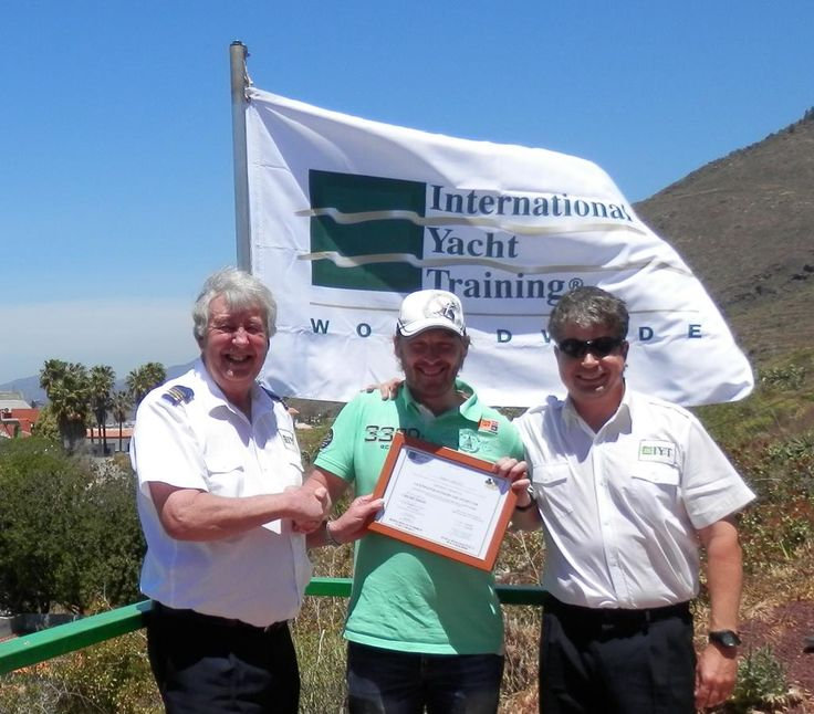 Well done to Andrei, from St.Petersburg - Russia for attaining his IYT YachtMaster Offshore Instructor!