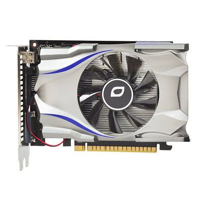 ﹩59.99. NEW for Nvidia GeForce GTX650 1GB GDDR5 128Bit Computer Game Graphics Video Card    Memory Size - 1GB, Memory Type - GDDR5, Chipset/GPU Manufacturer - NVIDIA, Chipset/GPU Stream Processing Unit - 384, Compatible Port/Slot - PCI Express 2.0 x16, Connectors - DisplayPort Output, Cooling Component(s) Included - Fan with Heatsink, GPU - GK107, APIs - DirectX 11.1,