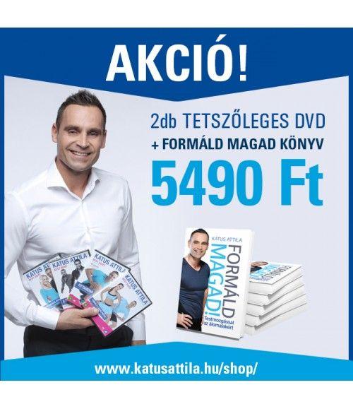Formáld Magad! Könyv és 2 tetszőleges DVD AKCIÓ!