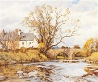 The Old Bridge, Gatehouse-of-Fleet by Charles Oppenheimer