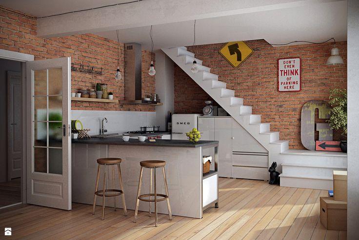 Kuchnia styl Industrialny - zdjęcie od Zibi_C