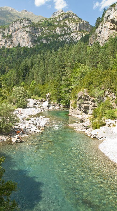 Río Ara. Valle de Bujaruelo. Torla. Huesca. Pirineos. Spain
