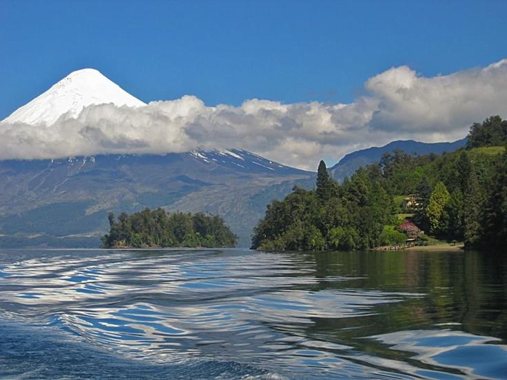 Lago Llanquihue, Chile.