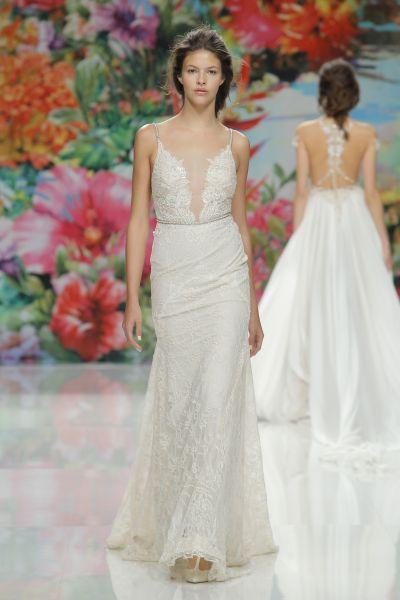 Vestidos de novia para mujeres con poco pecho 2017: ¡45 diseños que te enamorarán! Image: 18