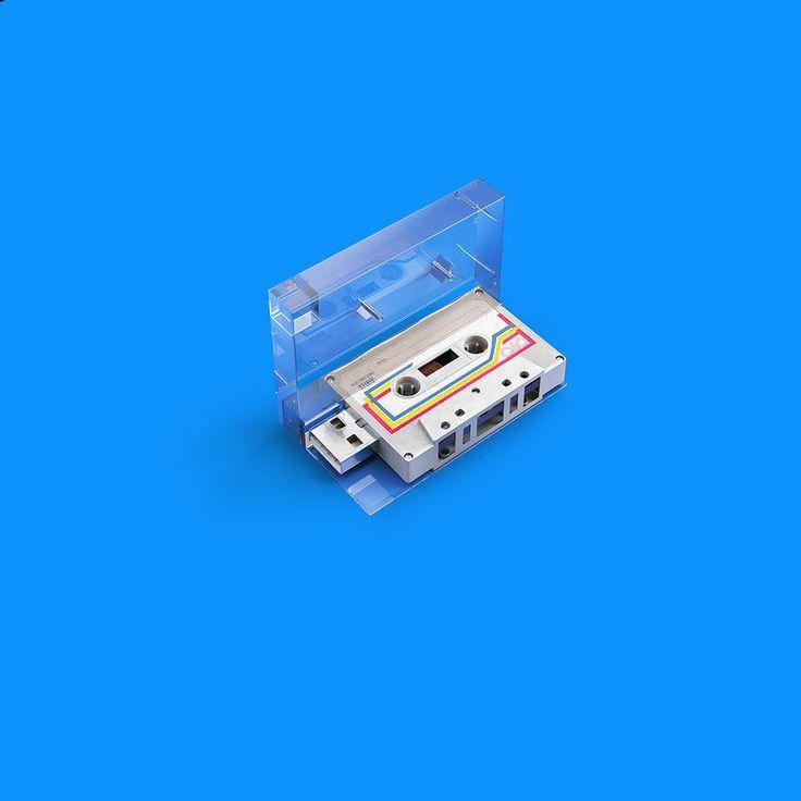 Memorias USB con diseños retro
