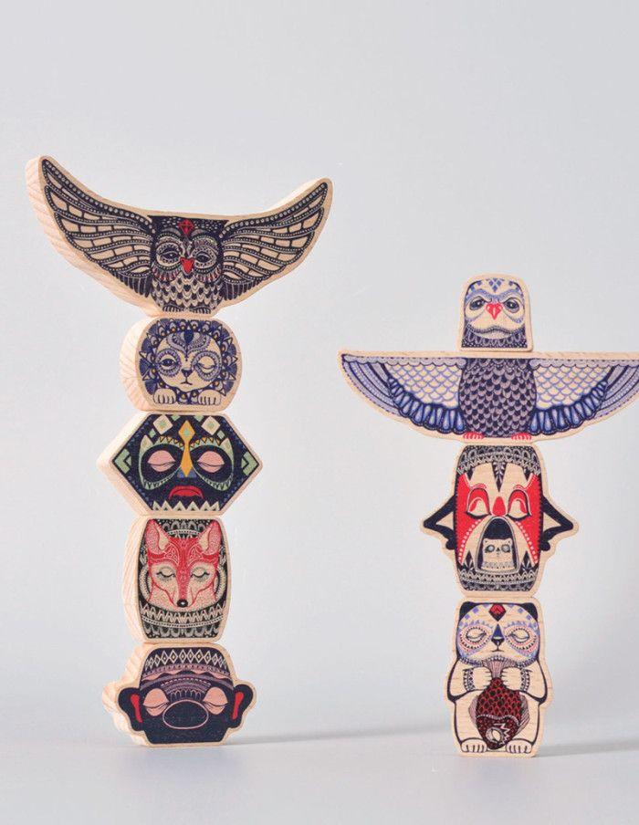 wood-totem   Mini empire