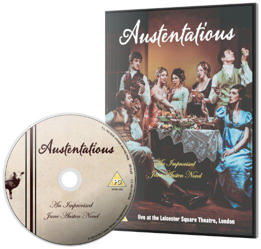 n.19€. Austentatious - An Improvised Jane Austen Novel [DVD]