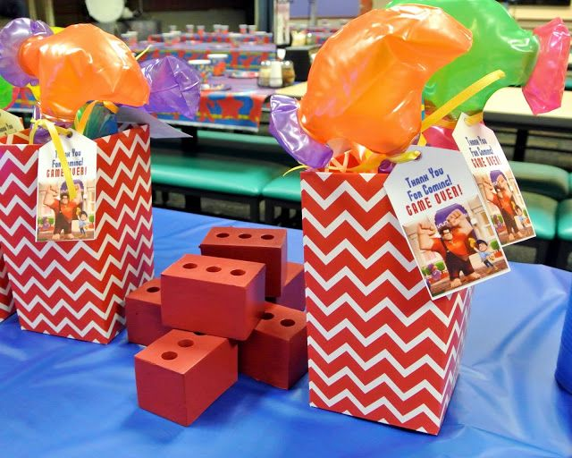 Wreck it Ralph birthday party