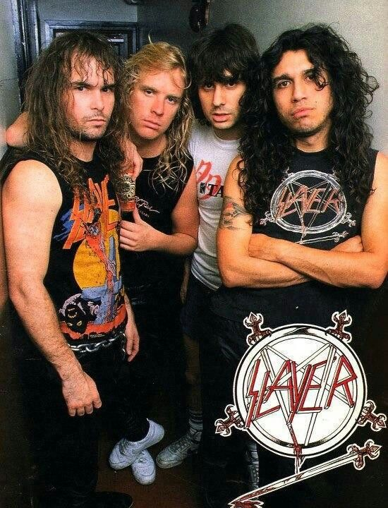 Slayer/ Metal Church/ Overkill  November 1986 Grand Olympic Auditorium  L.A. ,CA