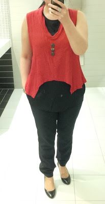 #ootd - for our red challenge | Perfecting My Closet | #ootd