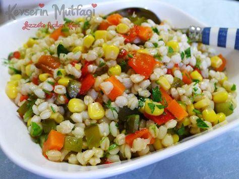 Buğday Salatası Tarifi - Kevser'in Mutfağı - Yemek Tarifleri