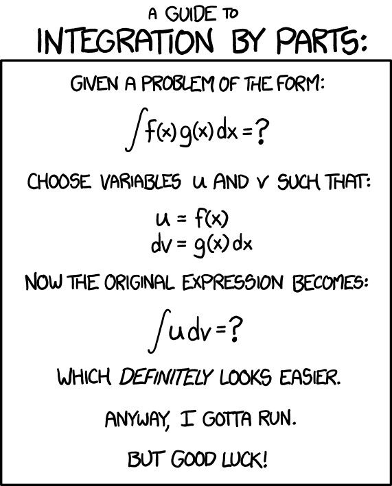 Pin By Deanna Ravelo On Funny Integration By Parts Funny Quotes For Teens Math Jokes