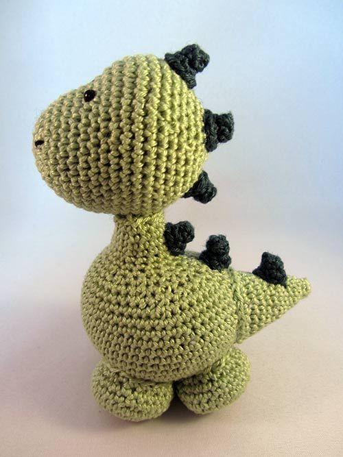 Amigurumi Dinosaurio Patron : 17 meilleures idees ? propos de Dinosaure En Crochet sur ...