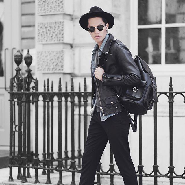 Quality attracts quality 💭💭 Men's black CS2 cowhide leather jacket #viparoteam #VIPARO.com.au